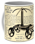 1905 - Yost Electric Manufacturing Company - Toldeo Ohio - Lawn Sprinkler Advertisement Coffee Mug