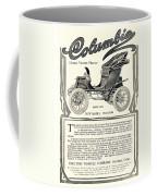 1907 - Columbia Victoria Phaeton Electric Automobile Advertisement Coffee Mug