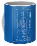 1908 Flute Patent - Blueprint Coffee Mug