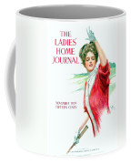 1909 - Ladies Home Journal Magazine Cover - November - Color Coffee Mug