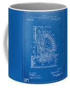 1910 Cash Register Patent Blueprint Coffee Mug