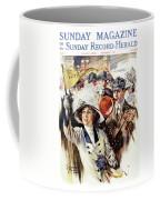 1910s 1912 Cover Sunday Magazine Coffee Mug