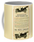 1911 - White Automobile Company Advertisement Coffee Mug
