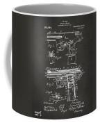 1911 Automatic Firearm Patent Artwork - Gray Coffee Mug by Nikki Marie Smith