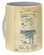 1911 Automatic Firearm Patent Artwork - Vintage Coffee Mug by Nikki Marie Smith