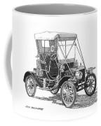 1911 Ford Model T Tin Lizzie Coffee Mug by Jack Pumphrey