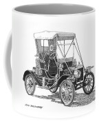 1911 Ford Model T Tin Lizzie Coffee Mug by Jack Pumphrey