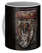1912 Indian Board Track Racer Engine Coffee Mug