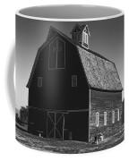 1913 Barn Black And White Coffee Mug