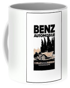 1914 - Benz Automobile Poster Advertisement - Color Coffee Mug