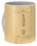 1915 Coca Cola Bottle Design Patent Art 5 Coffee Mug
