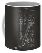 1915 Wrench Patent Artwork - Gray Coffee Mug