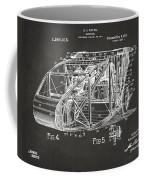 1917 Glenn Curtiss Aeroplane Patent Artwork 3 - Gray Coffee Mug