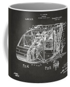 1917 Glenn Curtiss Aeroplane Patent Artwork 3 - Gray Coffee Mug