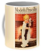 1917 - Modern Priscilla Magazine Cover - December Coffee Mug