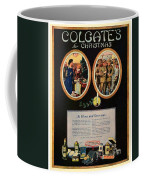 1918 - Colgate Advertisement - World War I - Color Coffee Mug