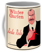 1918 - Wintergarten Poster - Roda Roda - Stephan Krotowski - Color Coffee Mug