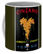 1919 - Conzano Vermouth Advertisement Poster - Color Coffee Mug