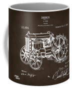 1919 Henry Ford Tractor Patent Espresso Coffee Mug by Nikki Marie Smith