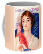 1919 - Land Of My Dreams By Anita Owen Sheet Music - Color Coffee Mug