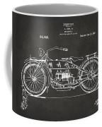 1919 Motorcycle Patent Artwork - Gray Coffee Mug