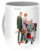 1920 - Life Magazine Cover - Engagement - J F Kernan - January 29 - Color Coffee Mug
