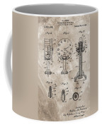 1920 Clock Patent Coffee Mug