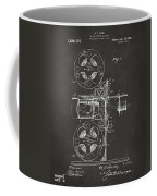 1920 Motion Picture Machine Patent Gray Coffee Mug