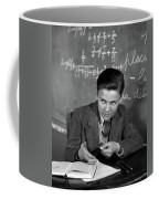 1920s 1930s Boy At Desk In Classroom Coffee Mug