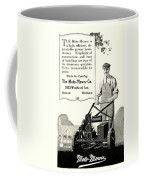 1921 - Moto Mower Lawnmower Advertisement Coffee Mug