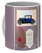 1922 - Cole 890 - Advertisement - Color Coffee Mug
