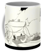 1924 - Georges Irat La Voiture D'elite French Automobile Advertisement Coffee Mug
