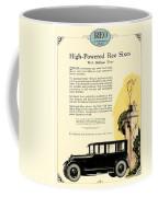 1924 - Reo Six Automobile Advertisement - Color Coffee Mug