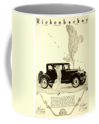1924 - Rickenbacker Automobile Advertisement Coffee Mug
