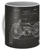 1924 Harley Motorcycle Patent Artwork - Gray Coffee Mug