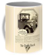 1925 - Buick Automobile Advertisement Coffee Mug
