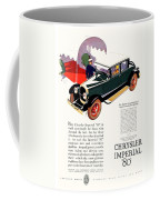 1926 - Chrysler Imperial Convertible Model 80 Automobile Advertisement - Color Coffee Mug