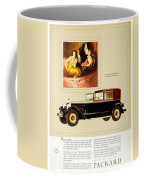 1926 - Packard Automobile Advertisement - Color Coffee Mug