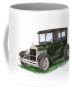 1926 Ford Tudor Sedan Street Rod Coffee Mug