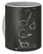 1926 Golf Club Patent Artwork - Gray Coffee Mug