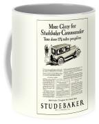 1927 - Studebaker Commander Automobile Advertisement Coffee Mug