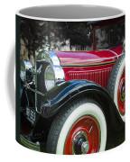 1928 Hupmobile Century Model E4 4 Door Sedan Coffee Mug