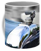 1928 Pontiac Hood Ornament And Badge Coffee Mug