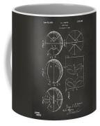 1929 Basketball Patent Artwork - Gray Coffee Mug by Nikki Marie Smith