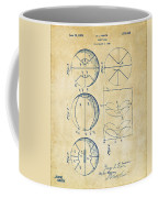 1929 Basketball Patent Artwork - Vintage Coffee Mug