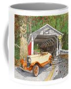 1929 Chrysler 65 Covered Bridge Coffee Mug
