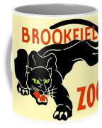 1930 - Brookfield Zoo Poster - Boston - Color Coffee Mug