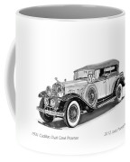 1931 Cadillac Phaeton Coffee Mug by Jack Pumphrey