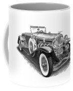 1930 Duesenberg Model J Coffee Mug