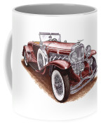 1930 Dusenberg Model J Coffee Mug